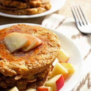 Gluten Free Pancakes with Sweet Potato and Apple