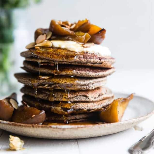Healthy Gluten Free Buckwheat Pancakes Food Faith Fitness