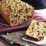 Whole Wheat Cranberry Pistachio Loaf - FoodFaithFitness
