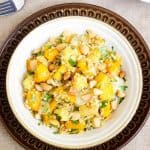 Quinoa Salad with Squash and Pineapples {Gluten Free & Vegetarian}