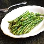 Easy Asparagus Recipe with Maple Dijon Vinaigrette {GF, Low Calorie, Low Fat & Low Carb}