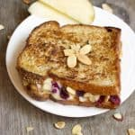 Grilled Brie Cheese with Apple Chutney - Food Faith Fitness