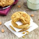 Browned Butter Pumpkin & Butterscotch Chip Cookies {Whole Wheat} - Food Faith Fitness