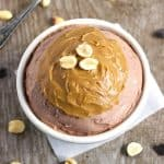 "Chocolate Peanut Butter ""Cheesecake"" {GF, Low Carb & High Protein} - Food Faith FItness"