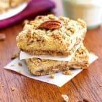 Pecan Crusted Sweet Potato Pie Squares {Gluten Free} - Food Faith Fitness