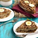 Baked Breakfast Quinoa with Dates and Bananas {GF and Low Fat}