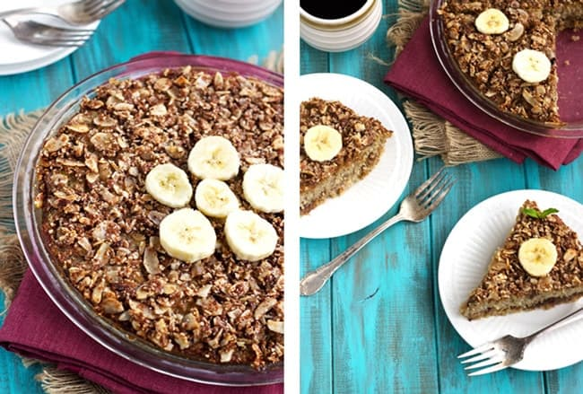 Baked Breakfast Quinoa with Dates and Bananas {GF}- Food Faith Fitness