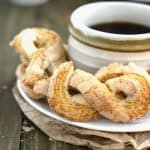 50 Calorie Sugar Twists {Whole Wheat, Low Calorie & Low Fat}