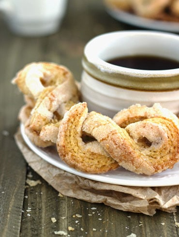 50 Calorie Sugar Twists {Whole Wheat Low calorie, and Low Fat} - Food Faith Fitness