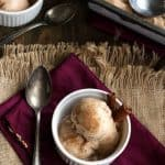 Vegan Buttered Rum 'n Coconut Nog Ice cream {GF} - Food Faith Fitness