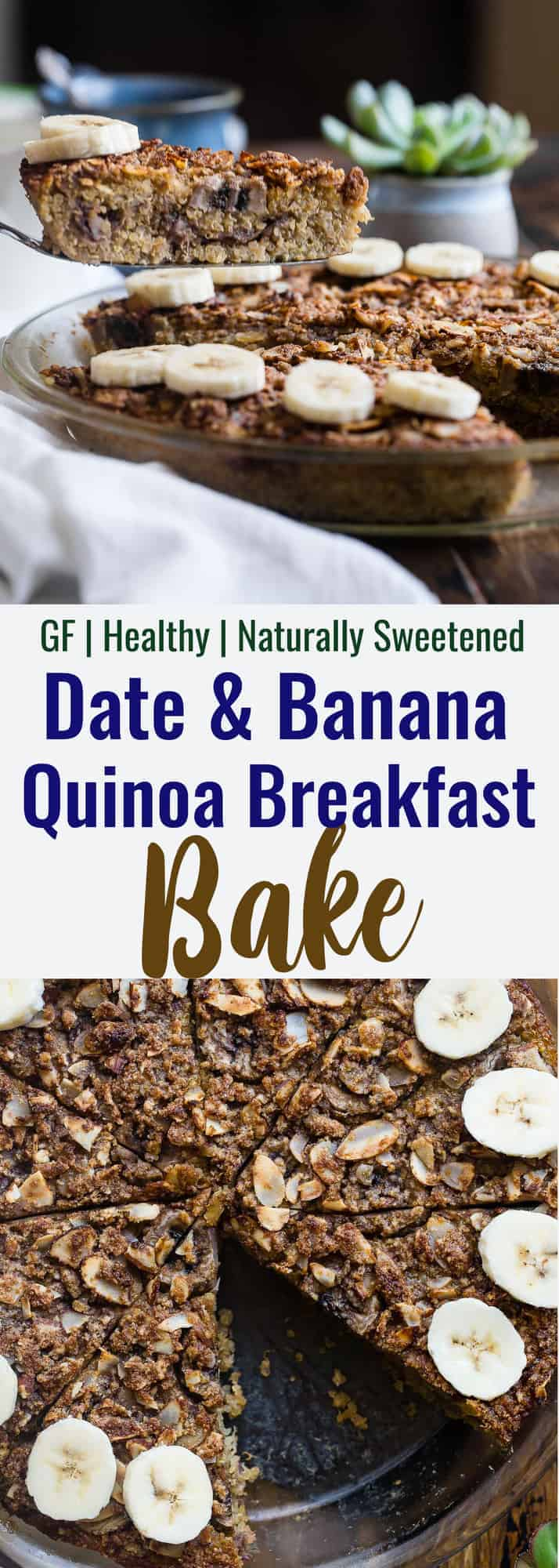 quinoa breakfast bake collage photo