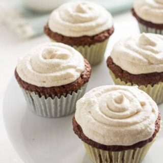 Carrot Cake Cupcakes {GF + Lower Fat} - Food Faith Fitness