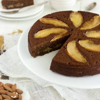 Almond Apple Cake + A Giveaway {Gluten Free + Naturally Sweetened} - Food Faith Fitness