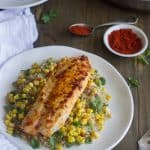 Easy Tilapia Recipe with Cilantro and Lime {GF, Low Fat, High Protein + Super Simple}