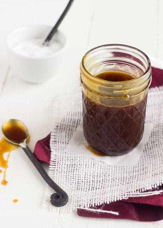 Lighter Coconut Caramel Sauce {GF} - Food Faith Fitness