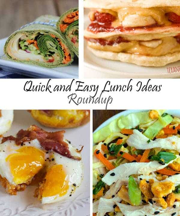 quick and easy lunch ideas food faith fitness