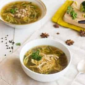 Chicken Zoodle Soup - Food Faith Fitness