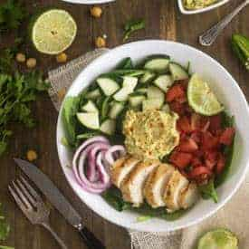 Hummus Power Salad