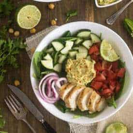 Hummus Power Salad