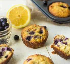 Lemon Blueberry Poppyseed Muffins