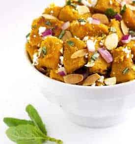 Honey Glazed Kabocha Squash Salad