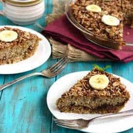 Date and Banana Quinoa Breakfast Bake