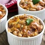 Healthier BBQ Pulled Pork Mac 'N Cheese