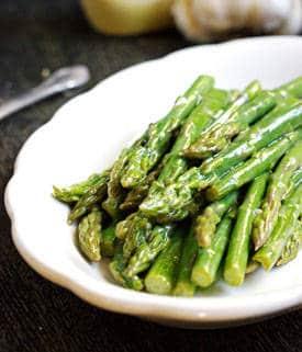 Maple Dijon Asparagus