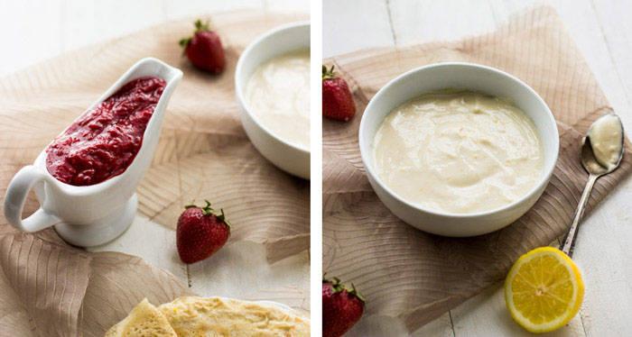 Strawberry Lemonade Crepes {Whole Wheat} - Food Faith Fitness