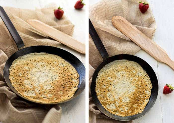 Strawberry Lemonade Crepes {Whole Wheat} - Food Faith Fitness