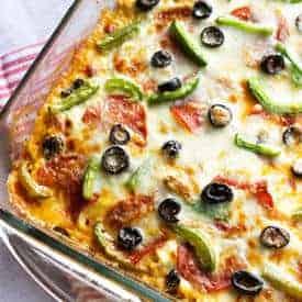 Turkey Zucchini Pizza Lasagna - Food Faith Fitness