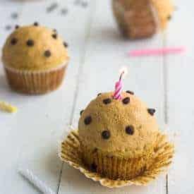 Chocolate Peanut butter Oatmeal Cupcakes