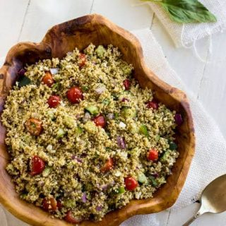 Couscous Salad: A Mediterranean Meal {Flashback Friday}