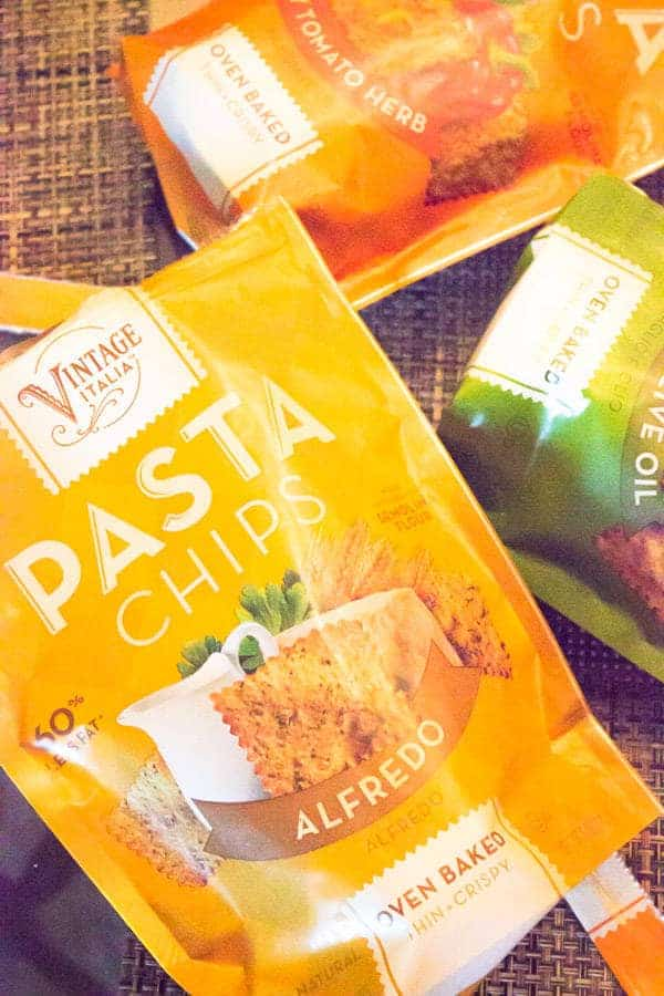 Pasta Chips Review and Giveaway! | foodfaithfitness.com | #healthysnack