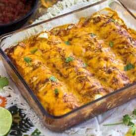 Egg white Enchiladas