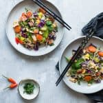 Easy Healthy Vegetarian Stir Fry with Cashew Cream Sauce