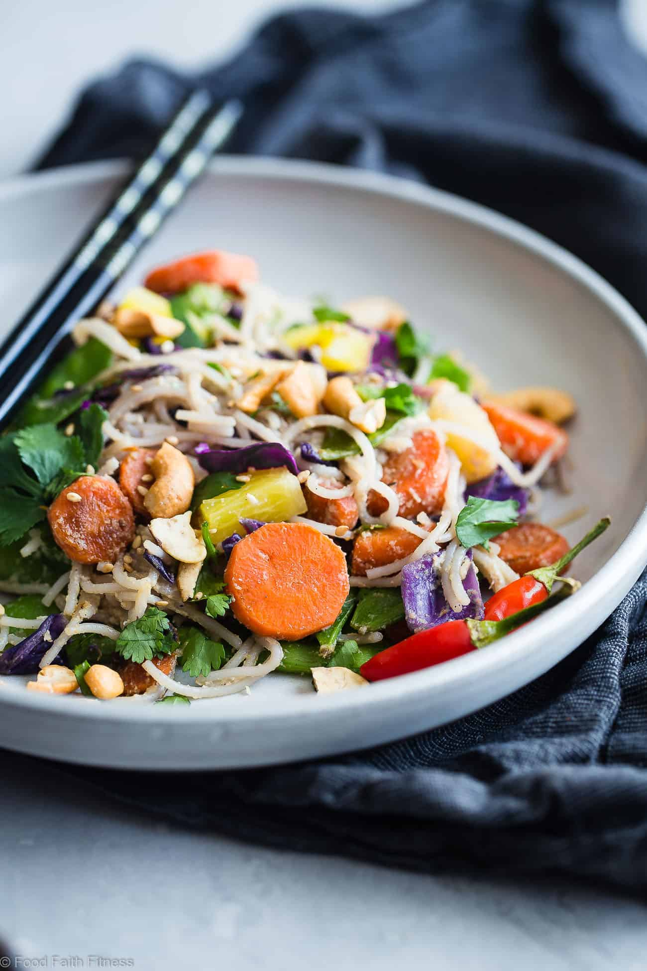 "Vegan ""Honey"" Ginger Stir Fry with Cashew Cream  -  This Easy Healthy Vegetarian Stir Fry is a simple and quick vegan friendly dinner that is LOADED with vegetables and flavor! Even picky eaters will love this simple, dairy and gluten free recipe! 
