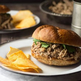 Slow Cooker Pulled Pork: Island Style