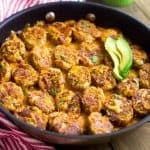 Cauliflower Tater Tot Casserole: Mexican Style {Low Carb, High Protein}