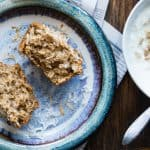 Flourless Oatmeal Applesauce Almond Butter Muffins