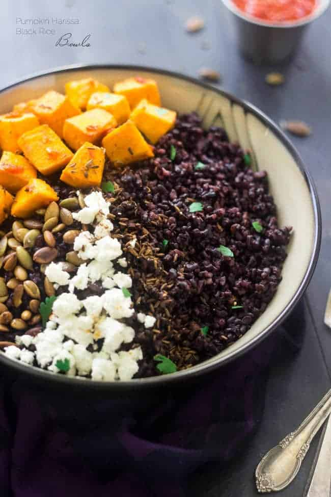 Black Rice Recipe With Roasted Pumpkin Food Faith Fitness