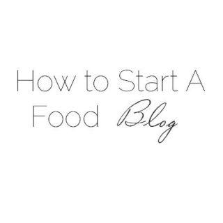 How to Start a Food Blog - Learn how to start an awesome food blog! |Foodfaithfitness.com | #blog #foodblog