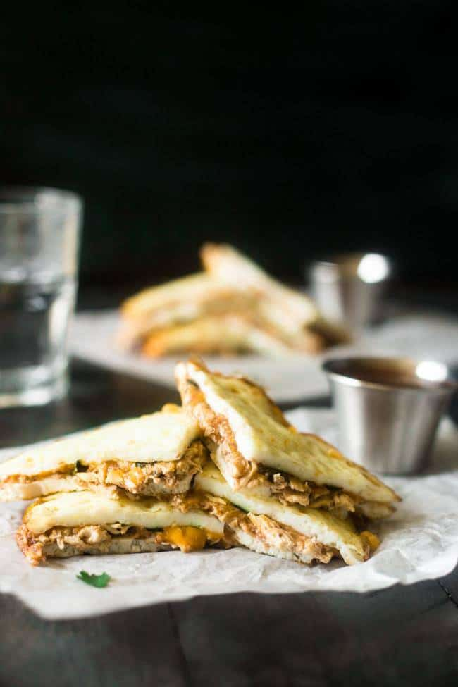 Healthy Bbq Chicken Quesadillas Food Faith Fitness