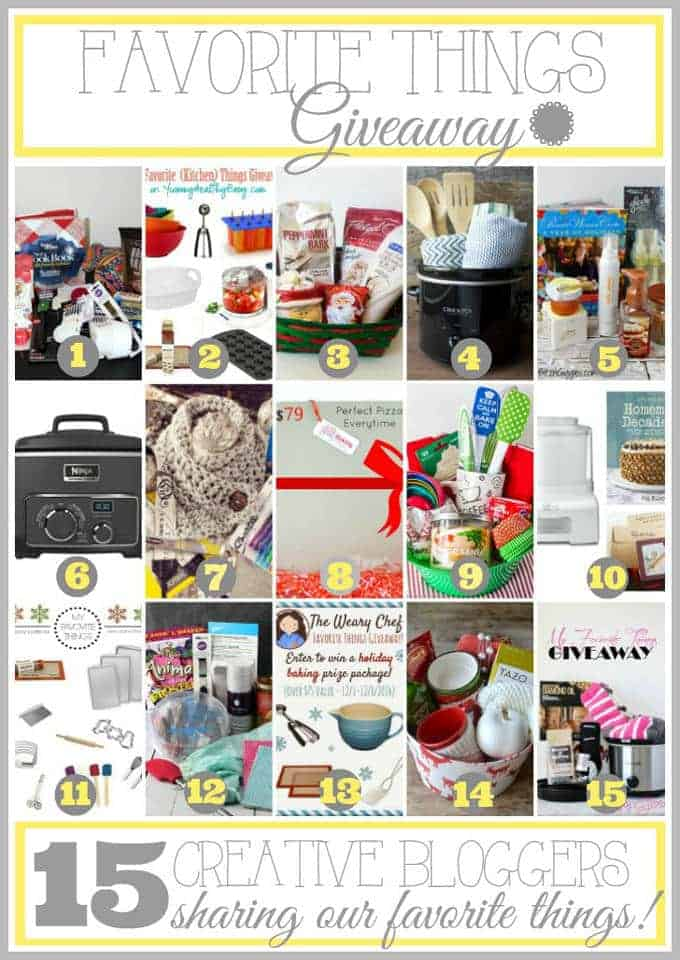 Bloggers Favorite Things Giveaway!   Foodfaithfitness.com   #giveaway