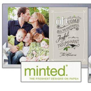 $250 Minted Giveaway | Foodfaithfitness.com |