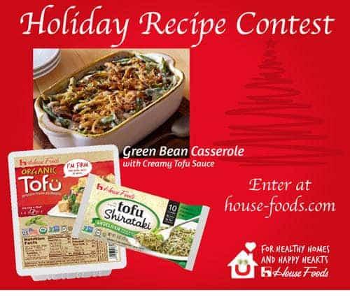 House Foods Recipe Contest