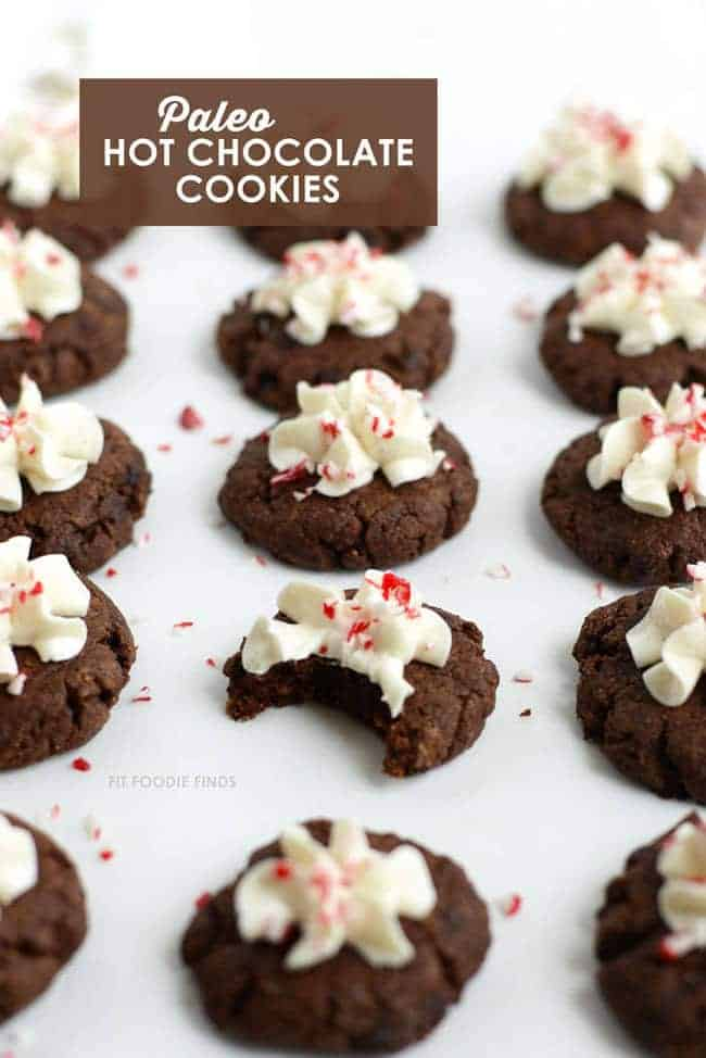 Paleo Holiday Cookie Roundup - Your favorite Christmas cookies, gone healthy!   Foodfaithfitness.com   #recipe