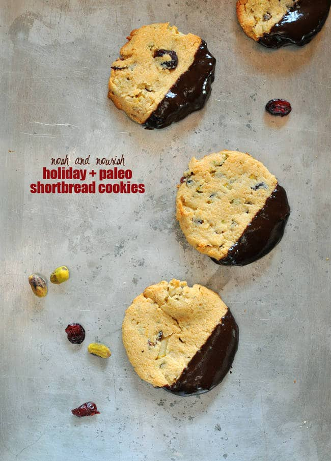 Paleo Holiday Cookie Roundup - Your favorite Christmas cookies, gone healthy! | Foodfaithfitness.com | #recipe