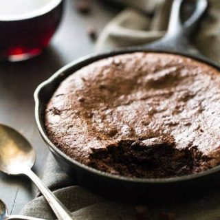 Hazelnut Paleo Brownies {Gluten Free + Super Simple}