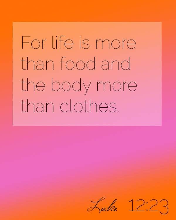 Sunday Reflection | Foodfaithfitness.com |